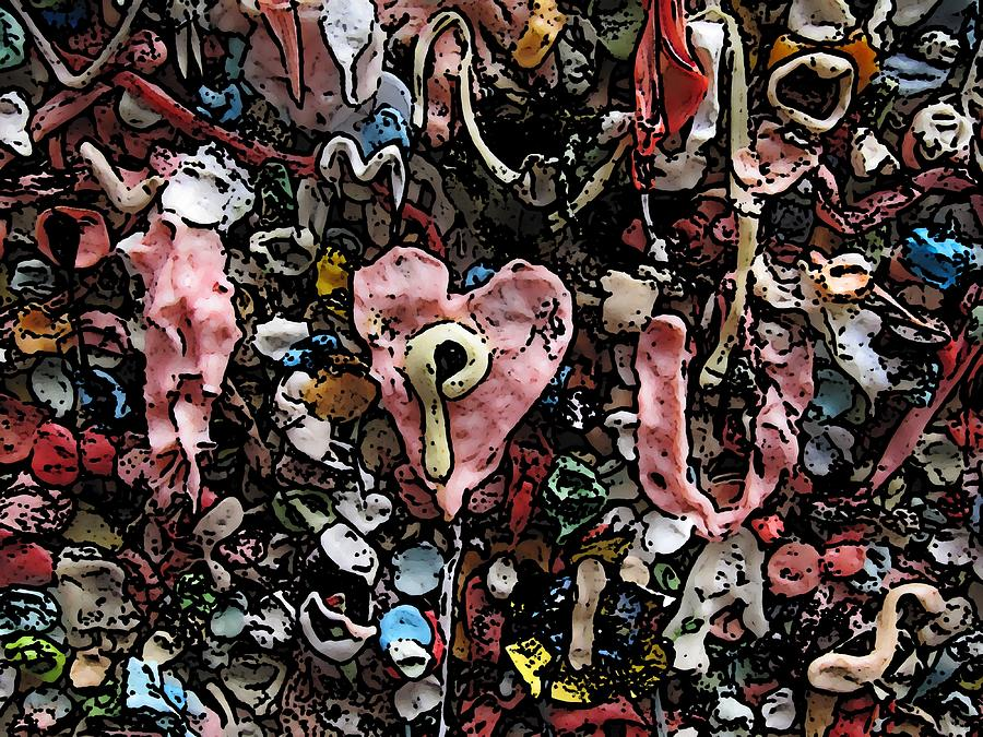Heart Digital Art - I Heart You by Tim Allen