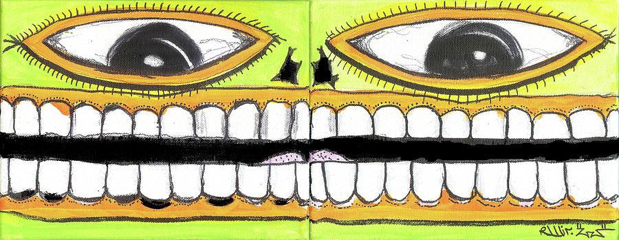 Contemporary Digital Art - I Like 2 Smile by Robert Wolverton Jr