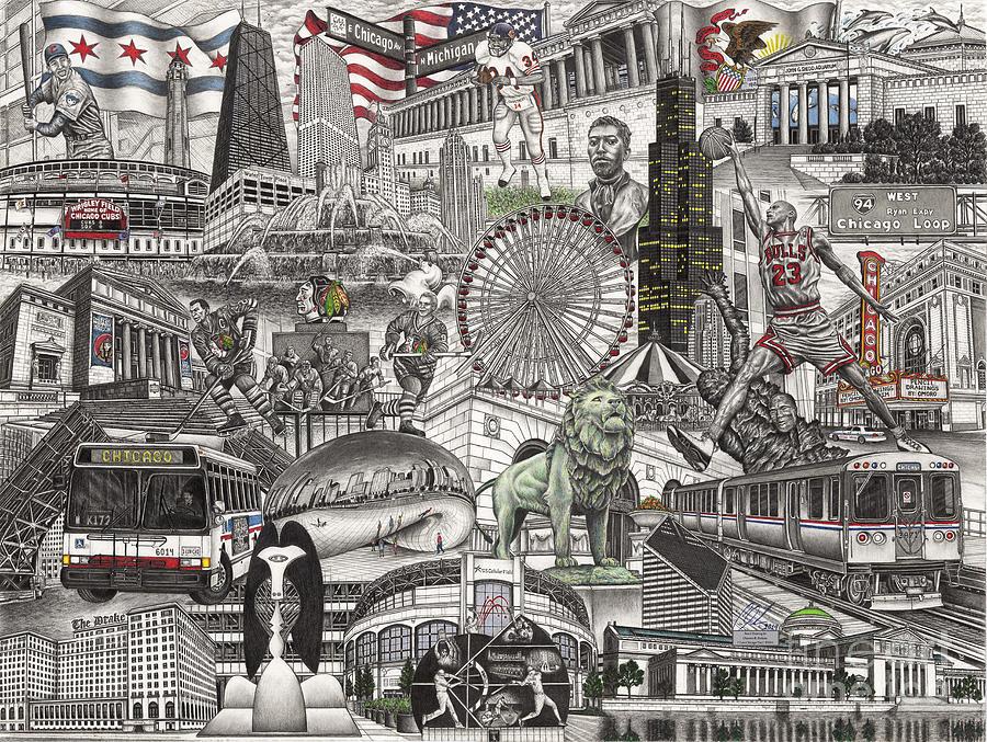 I Love Chicago volume 2 by Omoro Rahim