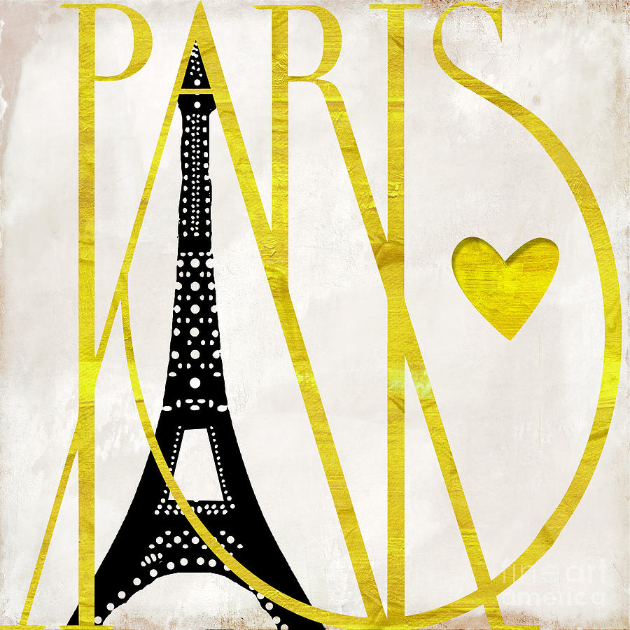 Paris Painting - I Love Paris by Mindy Sommers