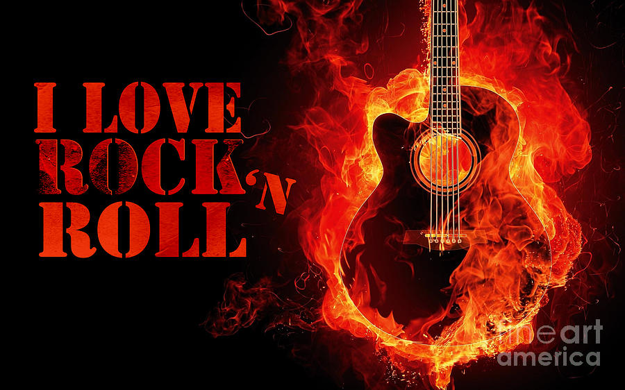 I Love Rock And Roll Photograph