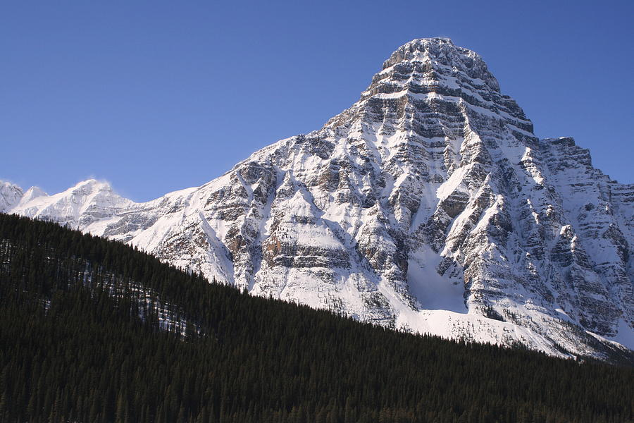 Rocky Mountains Photograph - I Love the Mountains of Banff National Park by Tiffany Vest