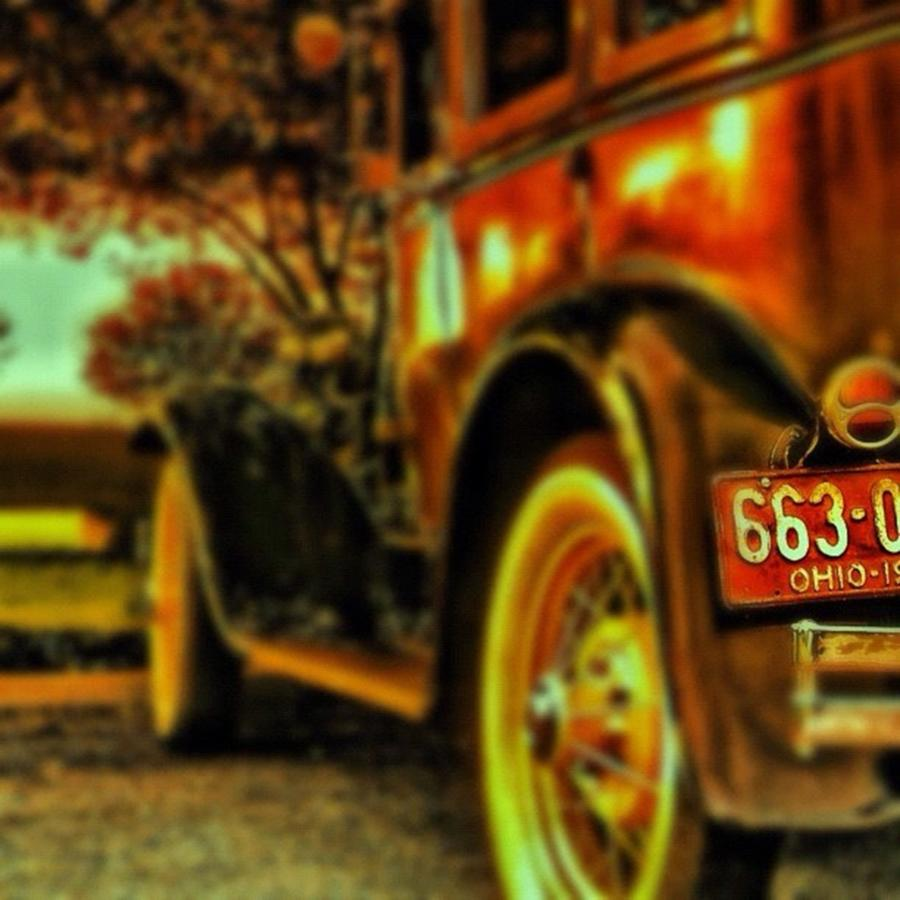 Yolo Photograph - I Love This #classiccar Photo I Took In by Pete Michaud