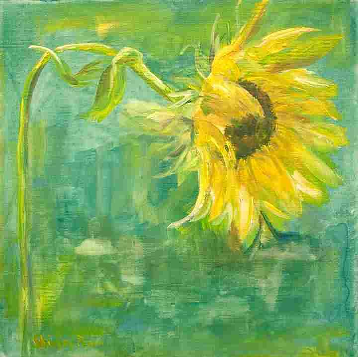 Floral Painting - I Love Victoria by Shirley Fearn