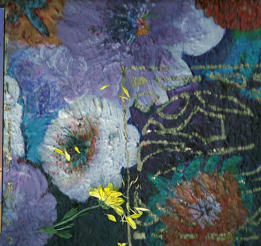 Flowers Mixed Media - I Love You Just The Way You Are by Anne-Elizabeth Whiteway