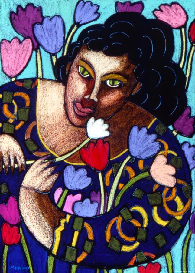 Figurative Painting - I Love Your Ways by Angelina Marino