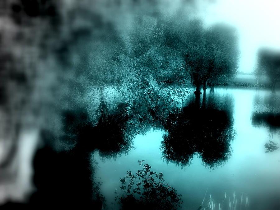 Blue Photograph - I Riflessi Della Nebbia by Irene Spedicato