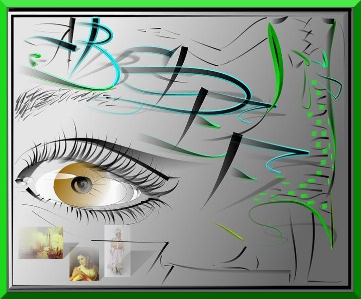 I See... Digital Art by Oksana Franklin
