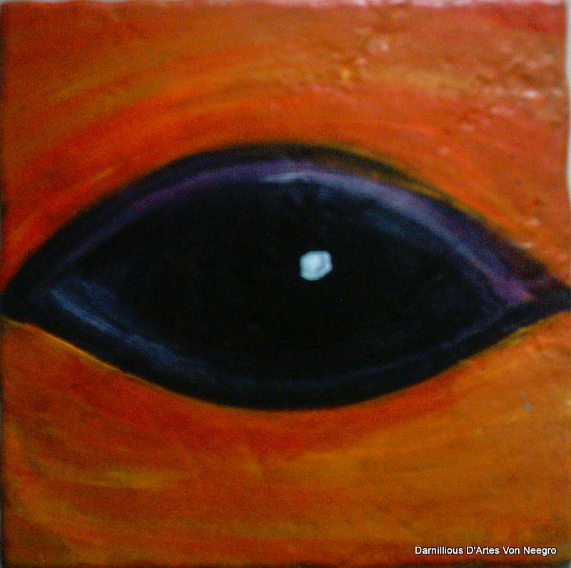 I See You  Painting by Darnillious Von Neegro