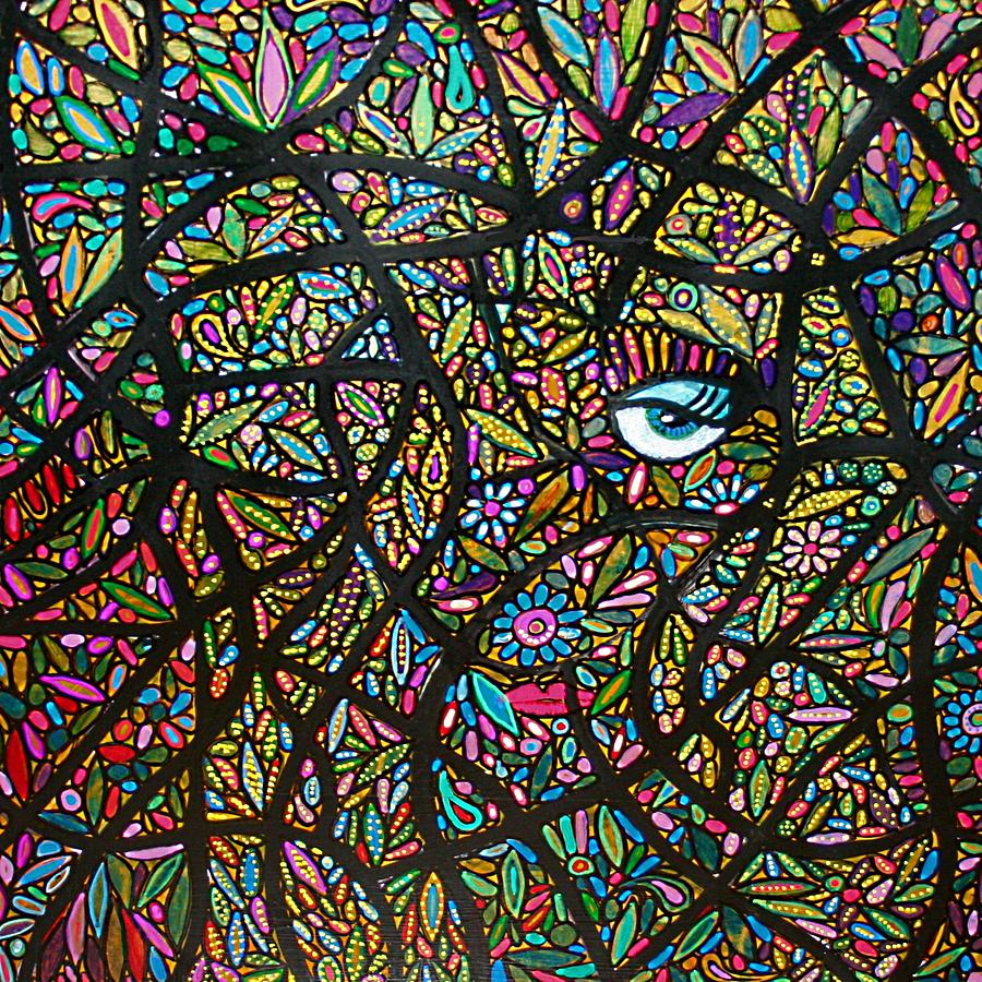 Abstract Painting - I See You Loud And Clear by Rick Cheadle