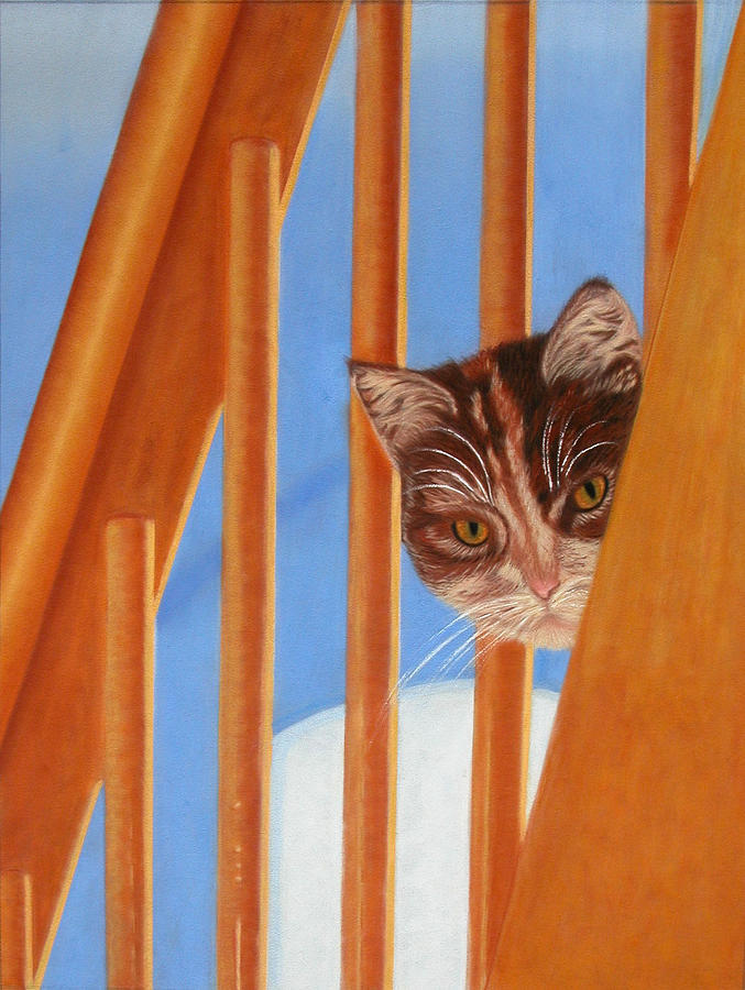 Animal Pastel - I See You Too by Laura Gabel