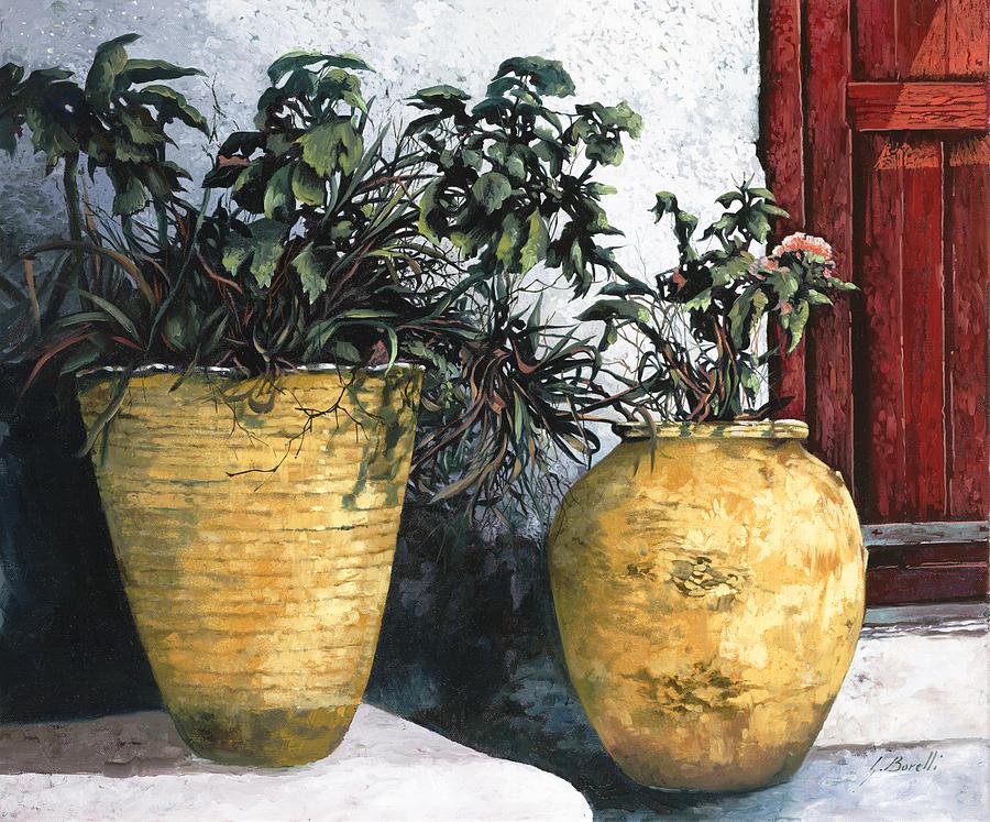Vases Painting - I Vasi by Guido Borelli
