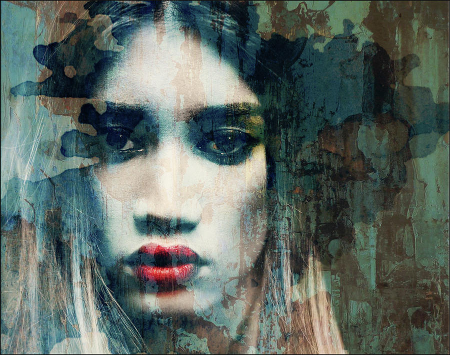 Female Mixed Media - I Want To Know What Love Is  by Paul Lovering