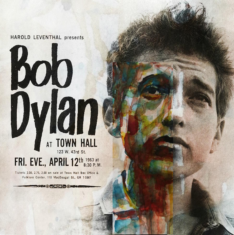 Bob Dylan Mixed Media - I Want You - Retro Poster  by Paul Lovering