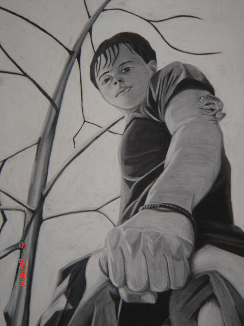 Me Drawing - I Will Carry It Where Ever I Go by Gilbert Nieves