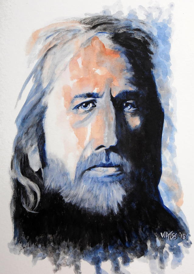 I Wont Back Down - Tom Petty Painting