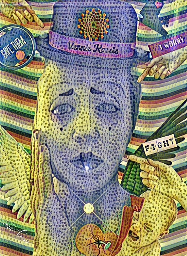 Bright Colors Digital Art - I Worry For Them by Vennie Kocsis