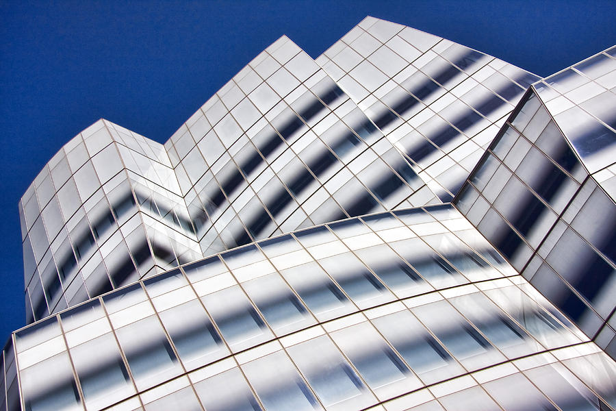 Architecture Photograph - Iac Building by June Marie Sobrito
