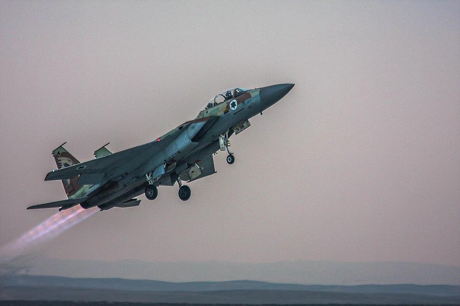 IAF F-15I Ra'am by Amos Dor