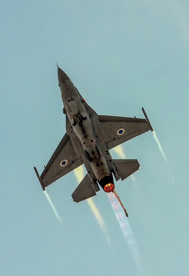 IAF F-16I Sufa by Amos Dor