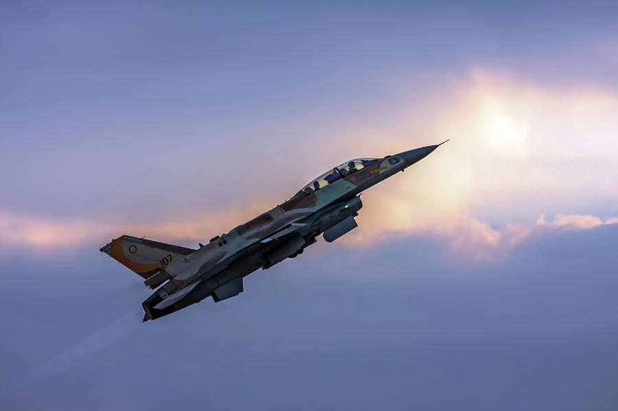 IAF F-16I Sufa nr. 107 by Amos Dor