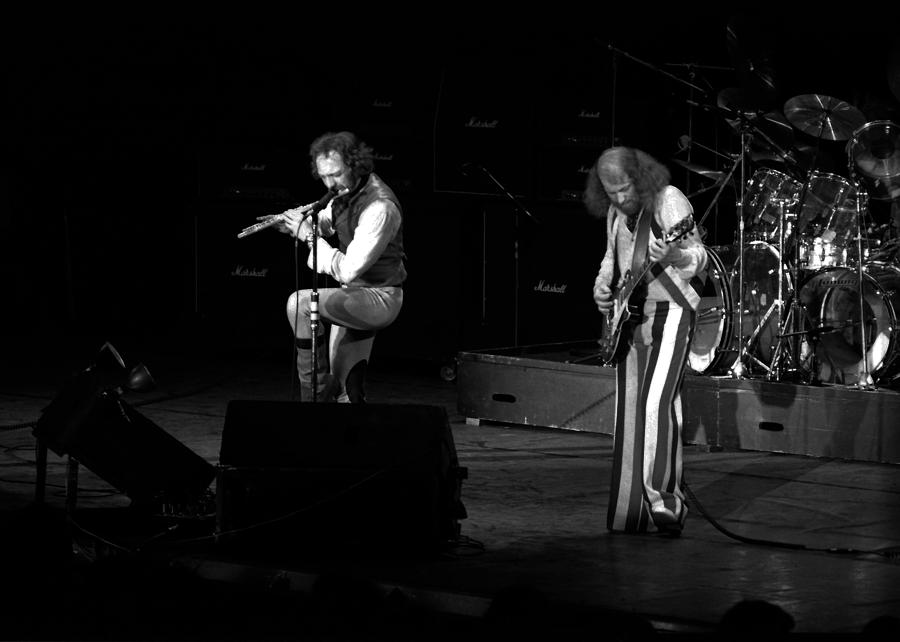 Ian Anderson Photograph - Ian And Martin by Ben Upham