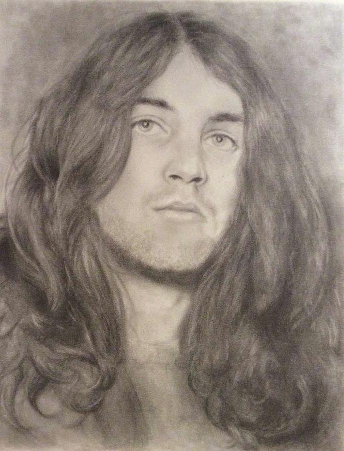 Ian Gillan Drawing by Holly Bohannon