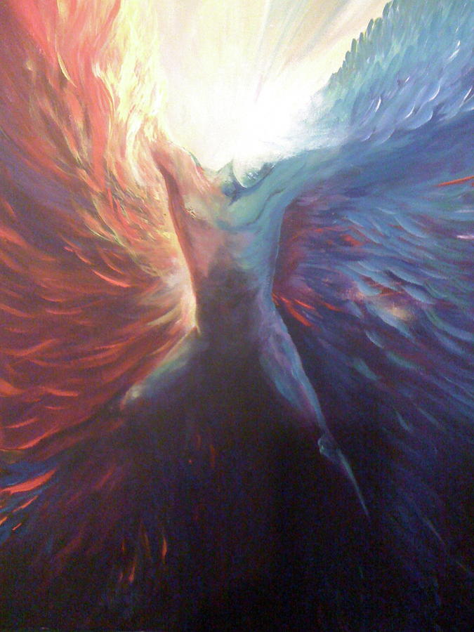 Icarus Fall Painting by Viktor Lazarev   Icarus Paintings Involving