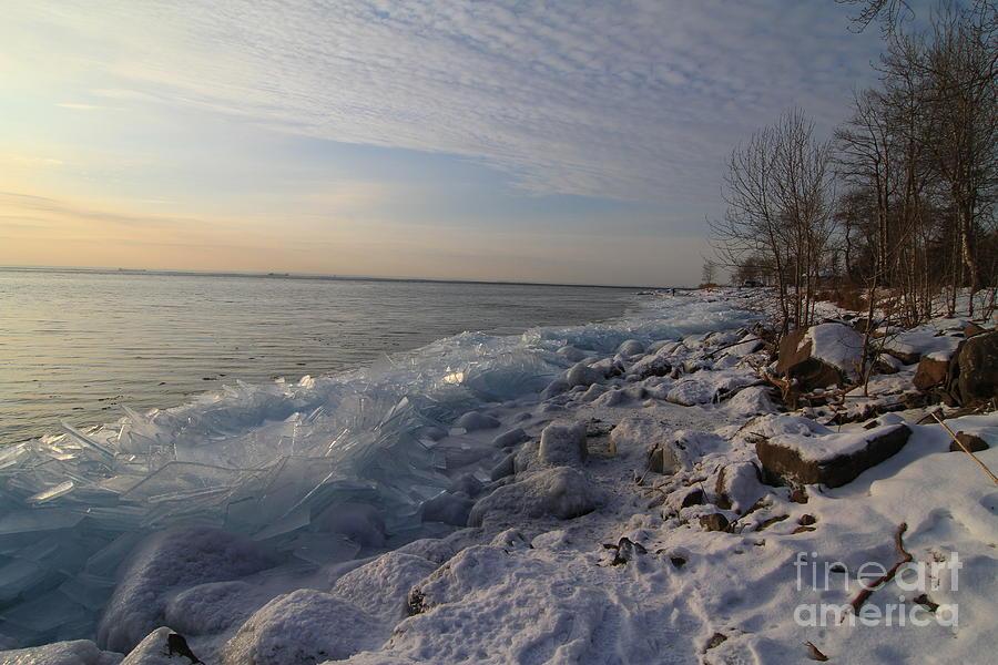 Ice Shove Photograph - Ice 2018 # 2 by Rick Rauzi