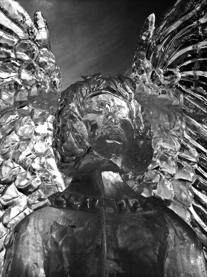 Montreal Photograph - Ice Angel by Juergen Weiss