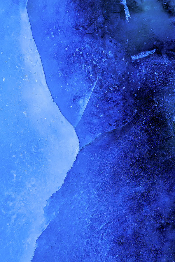 Ice Photograph - Ice Art #222 by Sebastian Worm