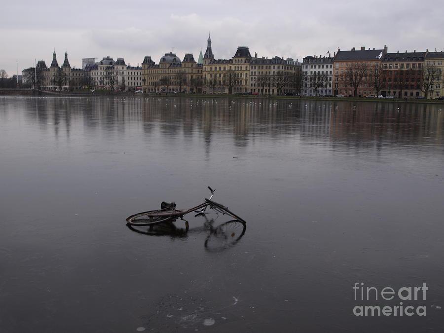 Ice Bike Pyrography by Catalin Mihaila