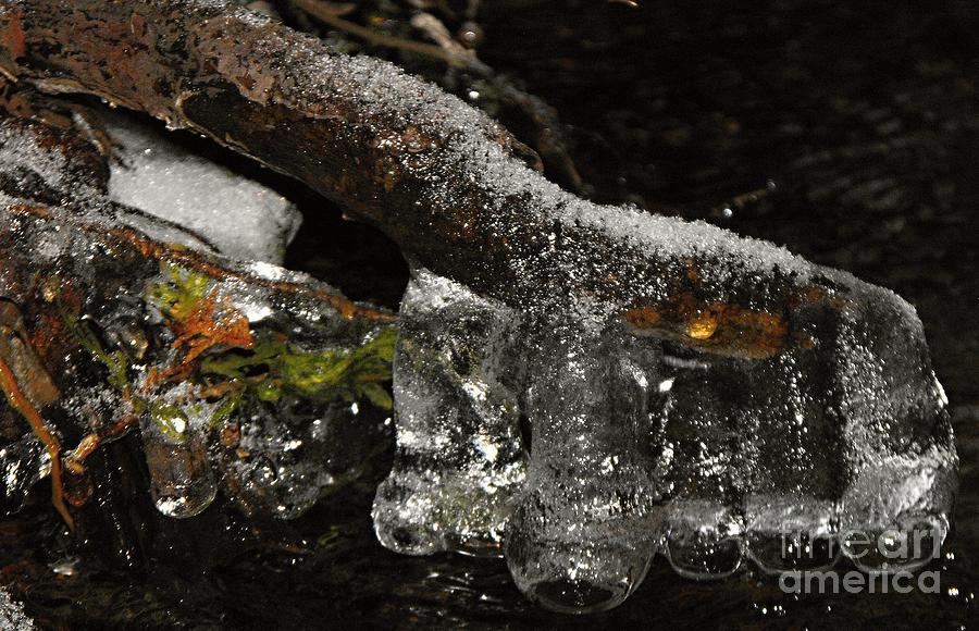 Wall Photograph - Ice Boots by David and Lynn Keller