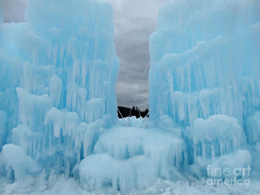 Ice Castles In Lincoln New Hampshire 6 Photograph By Gina
