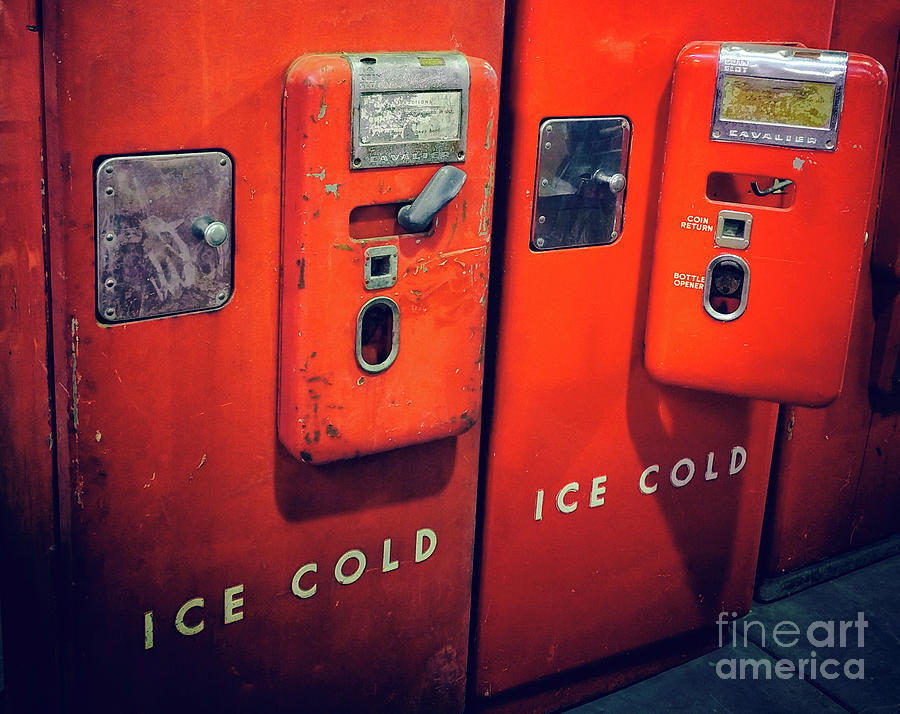 Red Photograph - Ice Cold Red  by Steven Digman