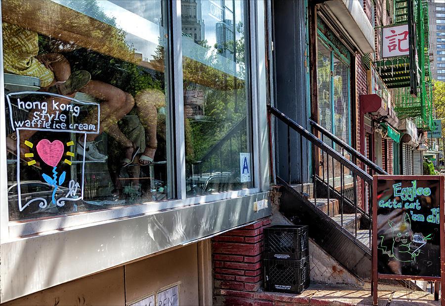 Ice Cream Parlor Photograph - Ice Cream Parlor Chinatown Nyc by Robert Ullmann