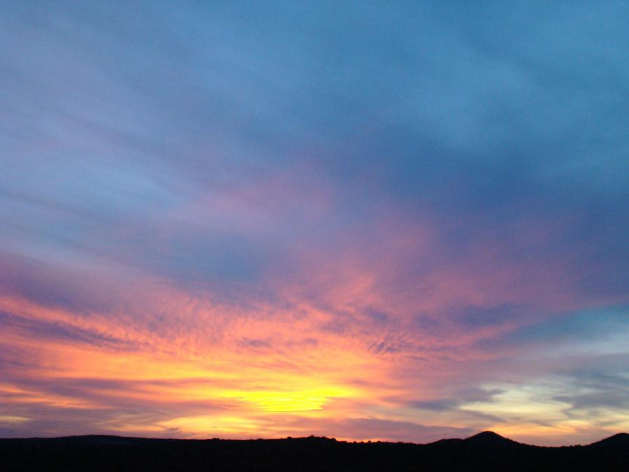 Sunset Photograph - Ice Cream Sunset by Ana Villaronga