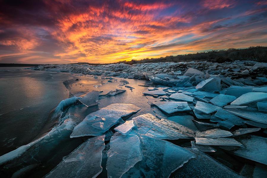 Ice Floe by Dave Koch