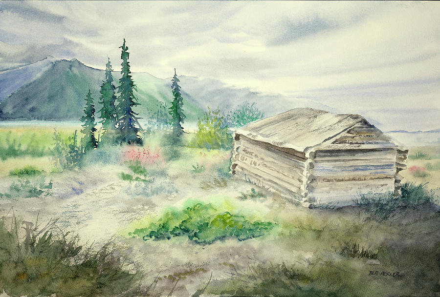 Ice House at Silver City by Deborah Horner