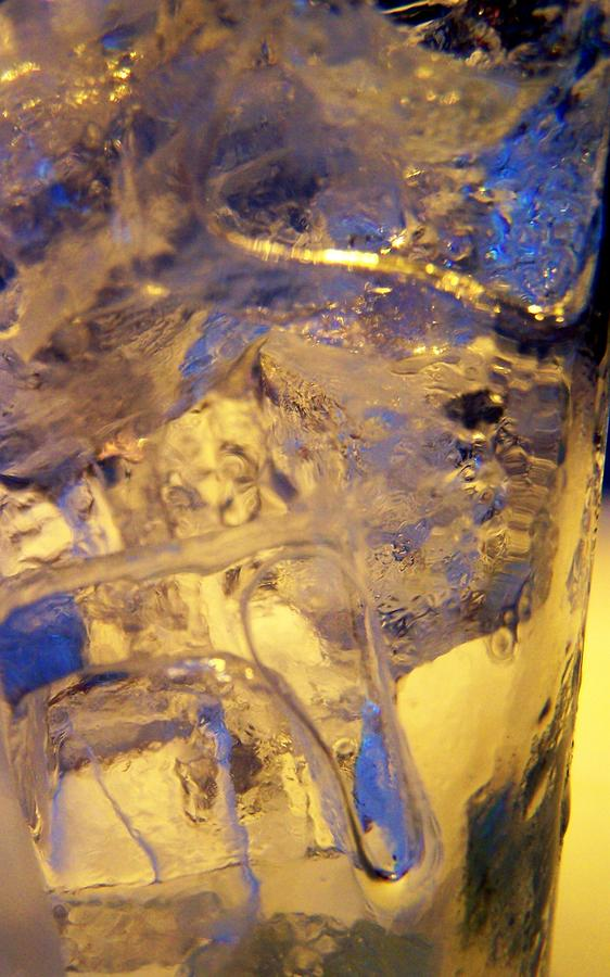 Ice Photograph - Ice Ice Baby by Vijay Sharon Govender
