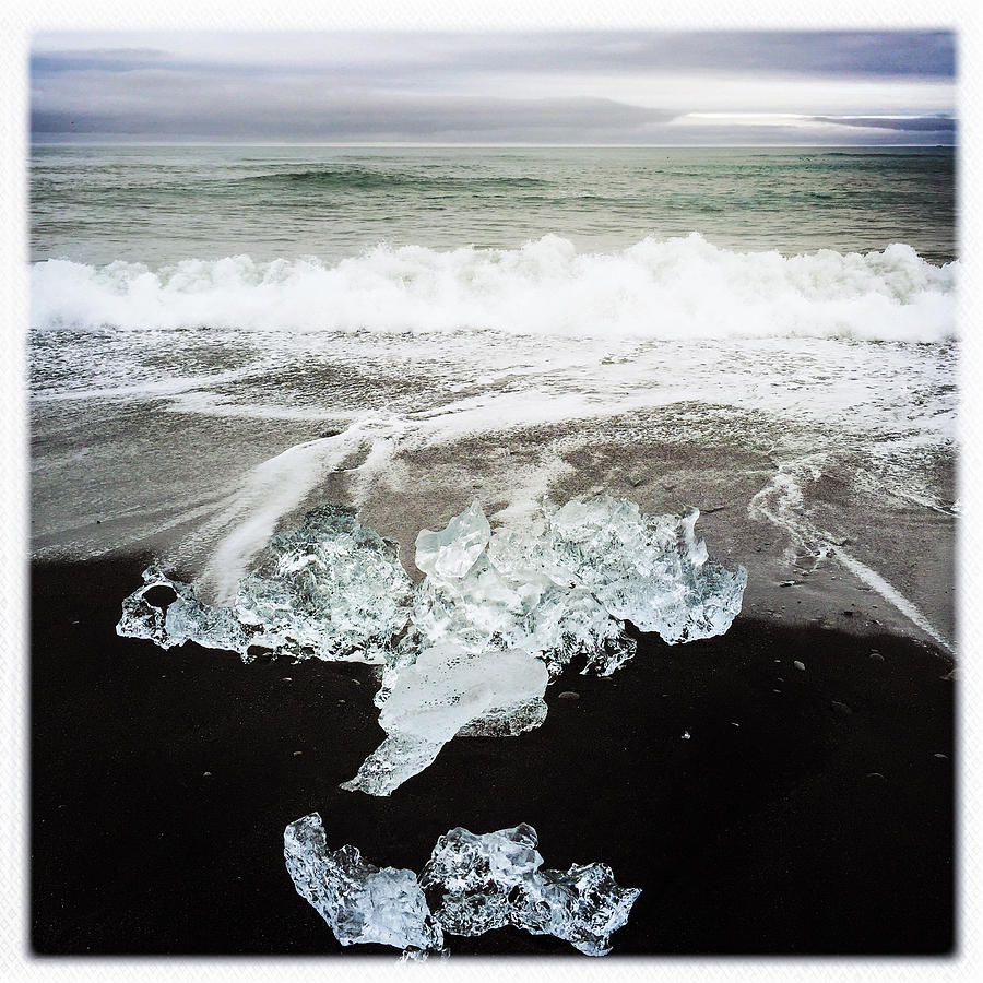 Iceland Photograph - Ice in Iceland by Matthias Hauser
