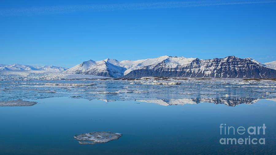 Ice Lagoon 2 Iceland Photograph
