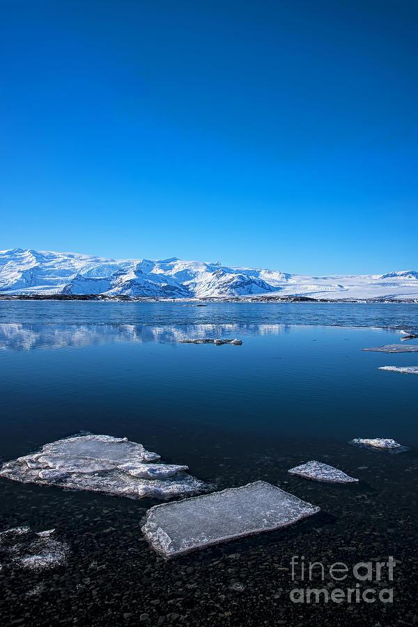 Ice Lagoon 3 Iceland Photograph
