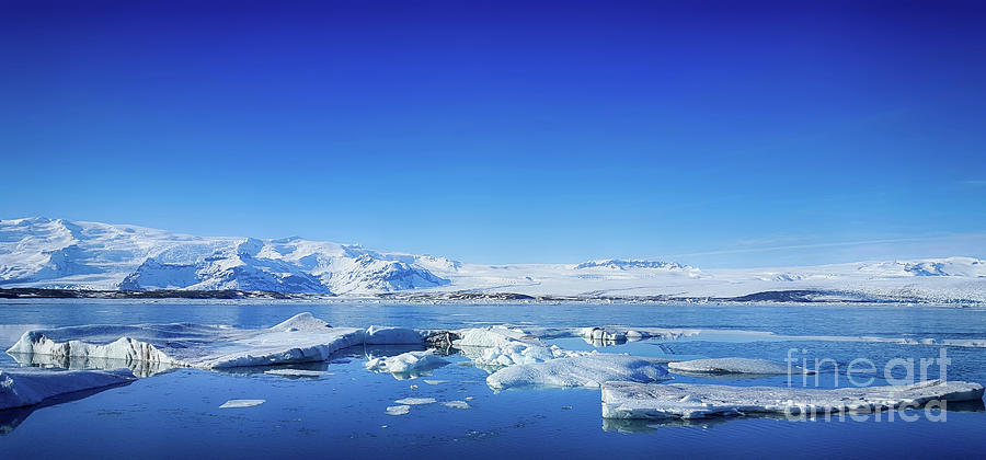 Ice Lagoon 4 Iceland Photograph