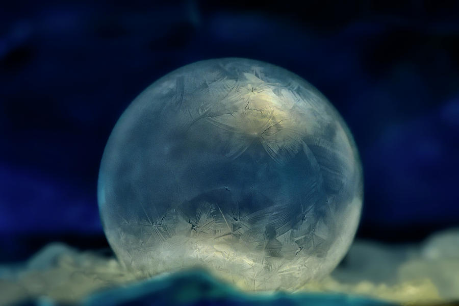 Ice Orb by Carol Eade