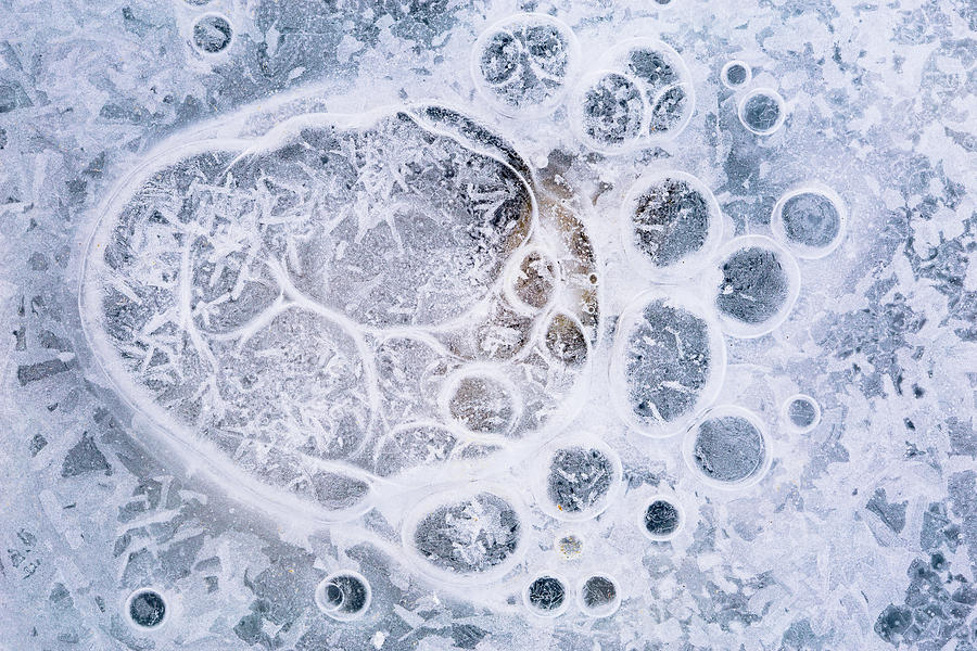 Ice Pattern One Photograph
