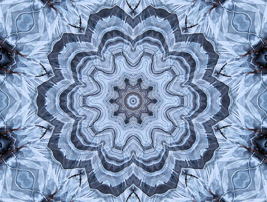 Ice Patterns Snowflake Digital Art By Kristin Elmquist Classy Ice Pattern