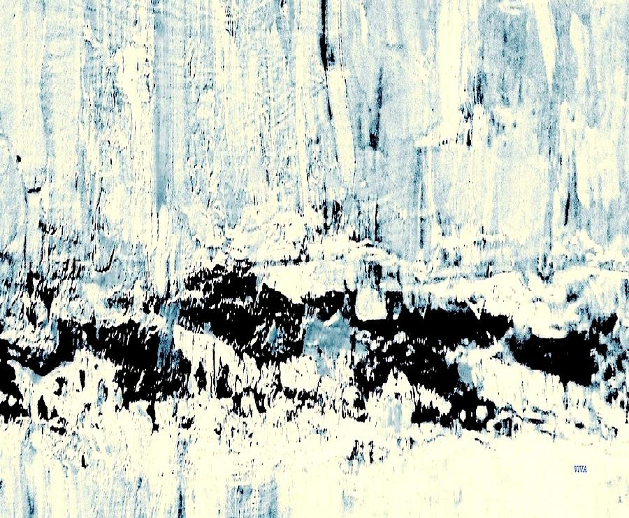 Arctic Painting - ICE by VIVA Anderson