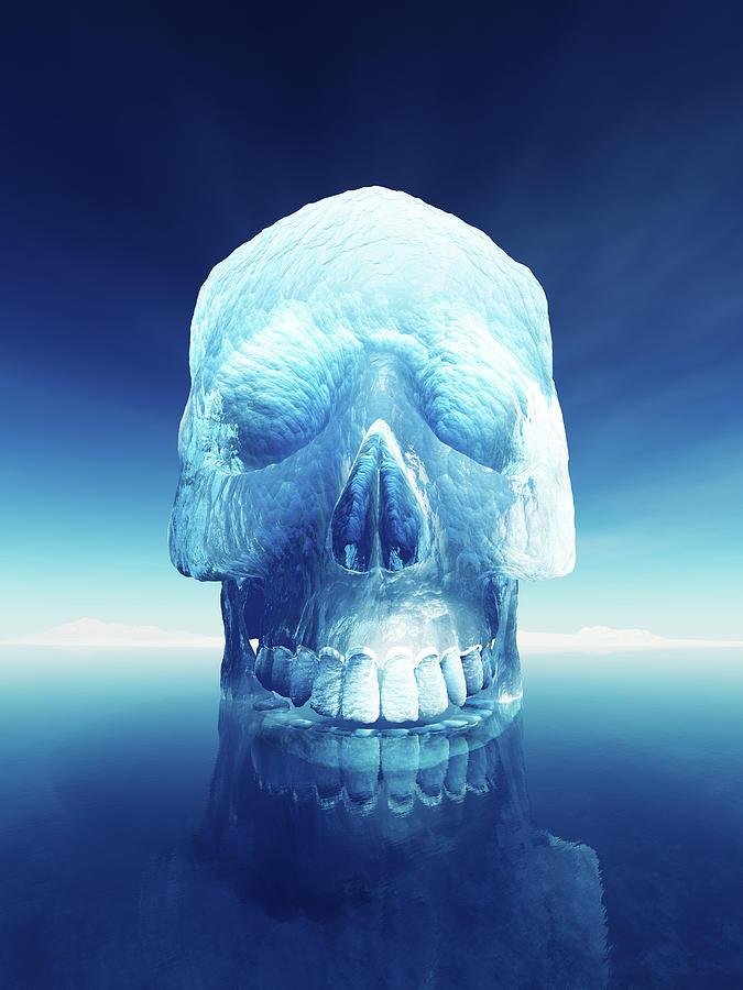 Iceberg Dangers Photograph