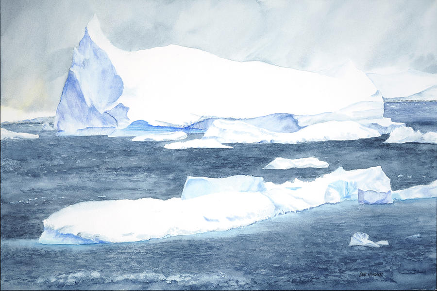 Icebergs and Grey Skies by Deborah Horner